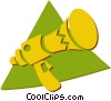 megaphone Vector Clipart graphic