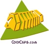 squeeze box Vector Clipart picture