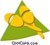 Vector Clip Art graphic  of a maracas