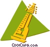 Vector Clipart graphic  of a mandolin