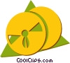 Vector Clipart illustration  of a film reel