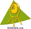 Vector Clipart graphic  of a cymbals/gong