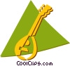 Vector Clip Art graphic  of a oud