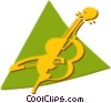 cellos Vector Clip Art graphic