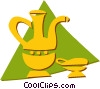 water pitcher Vector Clip Art graphic