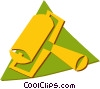 Vector Clipart illustration  of a printer roller