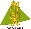 puppet Vector Clipart picture