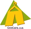 Vector Clipart graphic  of a Tents and Big Top