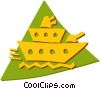 Vector Clipart graphic  of a Ships