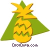 Pineapples Vector Clip Art picture