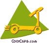 Scooters Vector Clip Art picture