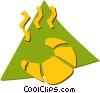 Vector Clipart illustration  of a Croissants