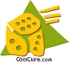 Vector Clip Art image  of a Dice