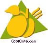 Peaches Vector Clipart picture