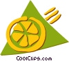 Oranges Vector Clip Art picture