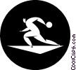 bowler Vector Clip Art image