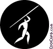 javelin Vector Clipart picture