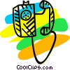 Office Phones Vector Clip Art image