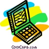 Laptops and Notebook Computers Vector Clipart picture