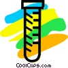 Beakers Flasks and Test Tubes Vector Clipart graphic