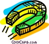 Magnets Vector Clip Art image