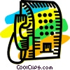 Public Pay Phones Vector Clip Art picture