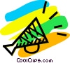 Vector Clipart graphic  of a Megaphones