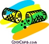 Vector Clip Art picture  of a Medicine and Prescriptions
