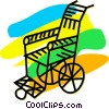 Wheelchairs Vector Clipart image