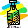Vector Clip Art image  of a Medicine and Prescriptions