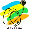 Stethoscopes Vector Clip Art graphic