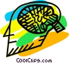 Vector Clipart picture  of a Brain