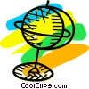 Globes Vector Clip Art picture