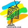Vector Clipart illustration  of a Televisions