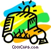 Vector Clipart graphic  of an Ambulance
