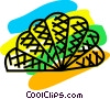 Vector Clipart picture  of a Fans