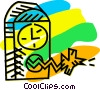 Vector Clipart picture  of a Cookoo Clocks