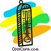 Thermometers Vector Clipart image