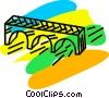 Bridges Vector Clipart illustration