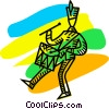 Toy Soldiers Vector Clip Art picture