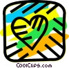 Hearts Vector Clip Art graphic