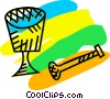 Vector Clip Art graphic  of a Mortar and Pestle