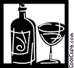 Wine Vector Clip Art picture