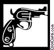 Guns Vector Clipart illustration