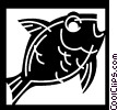 Vector Clipart picture  of a Goldfish