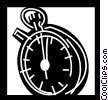Vector Clipart illustration  of a Stopwatches