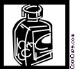 Vector Clipart graphic  of a Medicine and Prescriptions