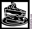 Cakes and Pastries Vector Clip Art image