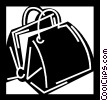 doctor's bag Vector Clipart illustration