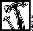 Hammers Vector Clip Art picture